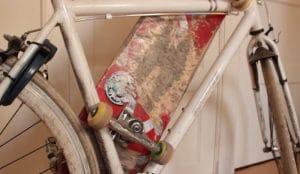 How To Carry A Skateboard On A Bike