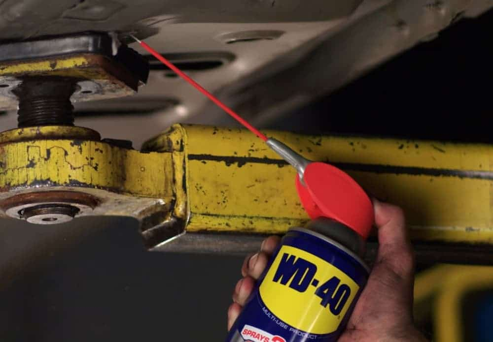 Can You Use WD40 On A Bike Chain?