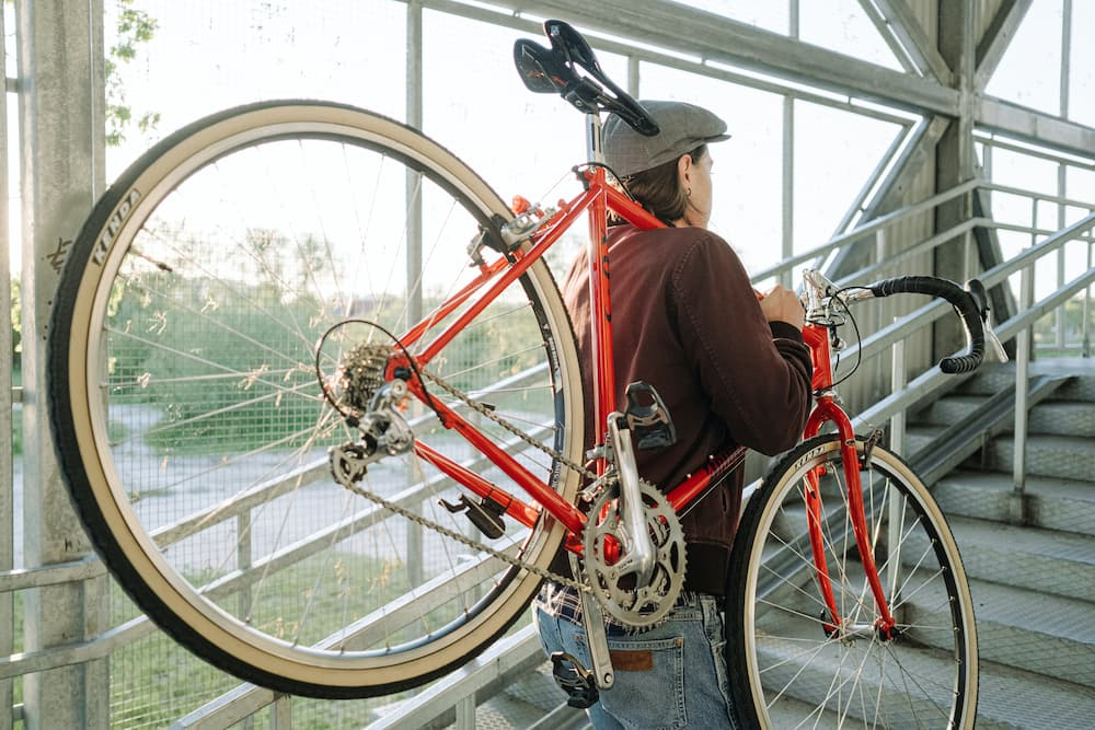 How To Carry A Bike Up Stairs And Downstairs