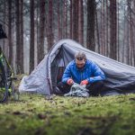 How To Carry a Tent on A Bike