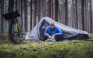 How To Carry A Tent On A Bike?